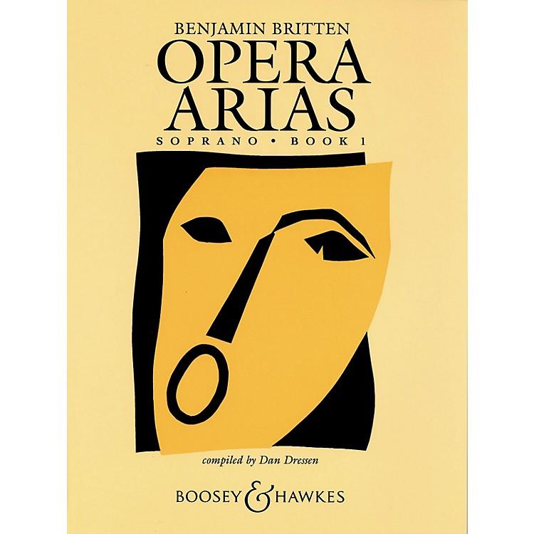 Boosey and HawkesOpera Arias Boosey & Hawkes Voice Series  by Benjamin Britten Edited by Dan Dressen