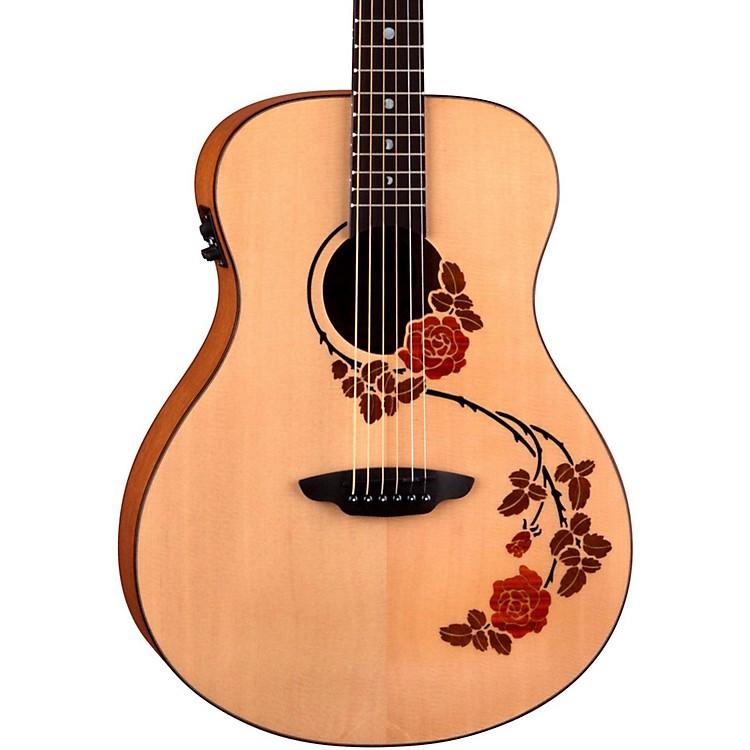 Luna GuitarsOracle Folk Series Rose Acoustic-Electric Guitar