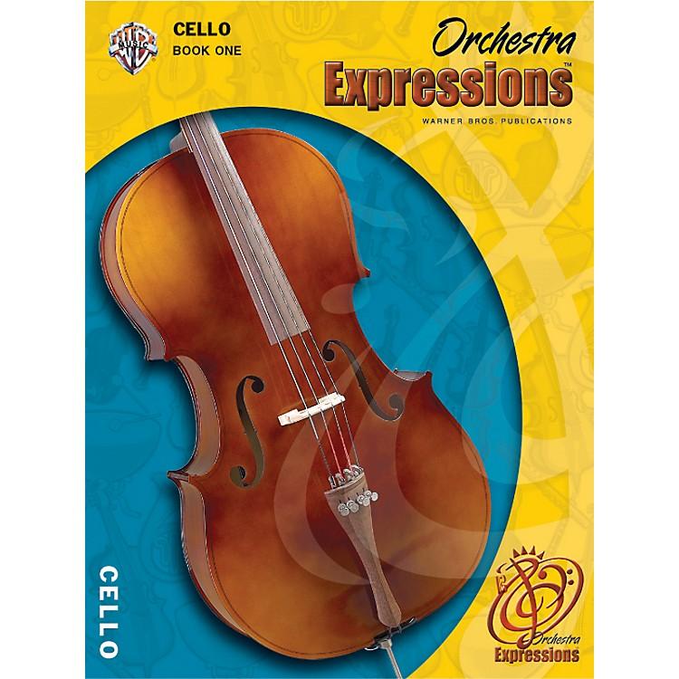 AlfredOrchestra Expressions Book One Student Edition Cello Book & CD 1