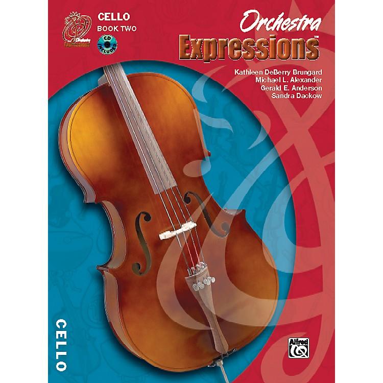 AlfredOrchestra Expressions Book Two Student Edition Cello Book & CD 1