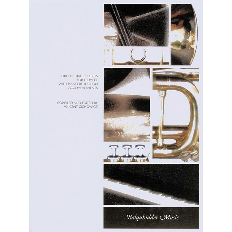 Carl FischerOrchestral Excerpts for Trumpet with Piano Reduction Accompaniments Book