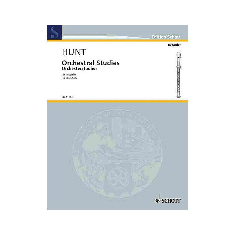 SchottOrchestral Studies for Recorder Schott Series
