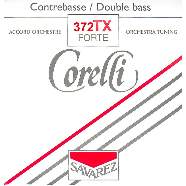 Corelli Orchestral TX Tungsten Series Double Bass D String 3/4 Size Heavy Ball End