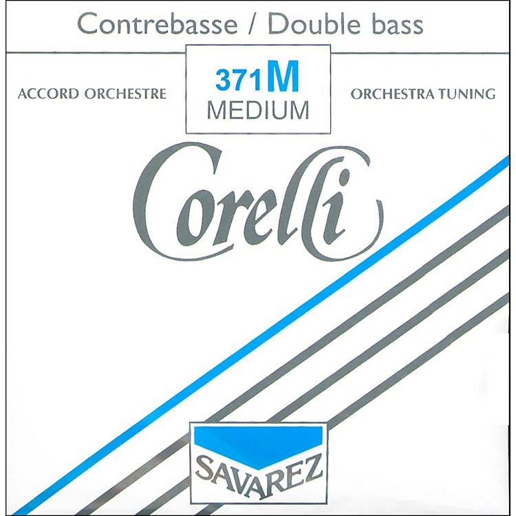 Corelli Orchestral Tungsten Series Double Bass G String 3/4 Size Medium Ball End
