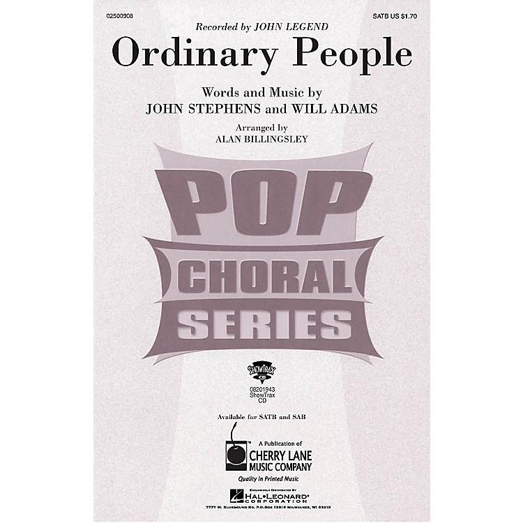 Cherry LaneOrdinary People SAB by John Legend Arranged by Alan Billingsley