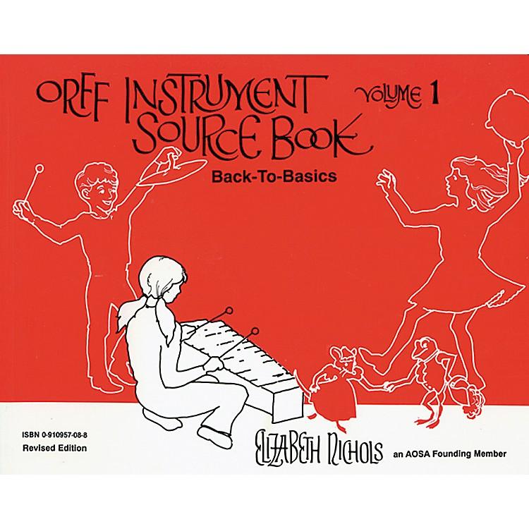 AlfredOrff Instrument Source Book Volume 1