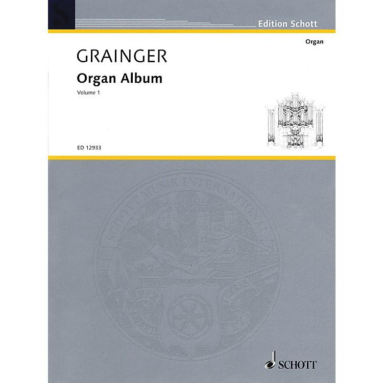 SchottOrgan Album (Volume 1) Organ Collection Series
