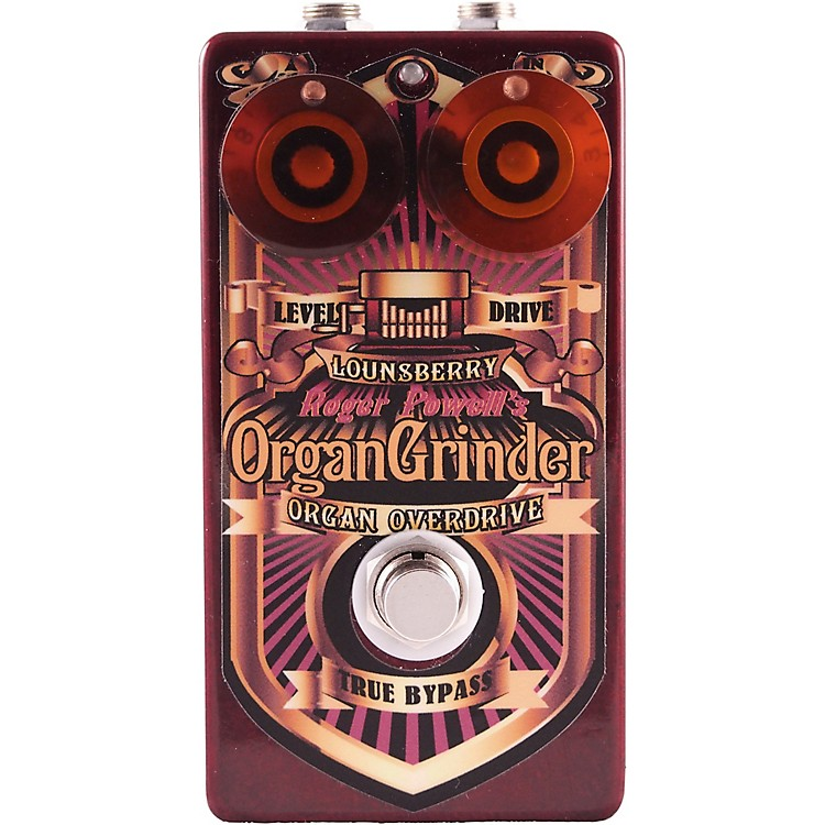 Lounsberry PedalsOrgan Grinder Overdrive Effects Pedal