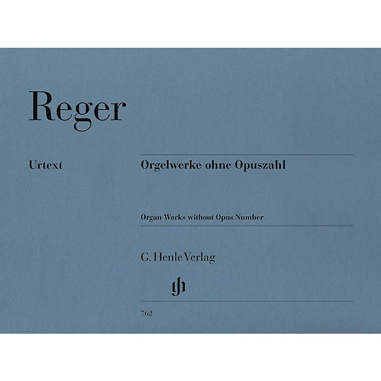 G. Henle Verlag Organ Works Without Opus Number Henle Music Folios Series Softcover