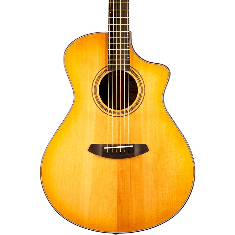Breedlove Organic Collection Artista Concert Cutaway CE Acoustic-Electric Guitar Natural Shadow Burst