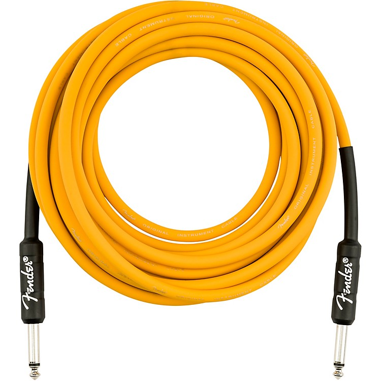 FenderOriginal Series Straight to Straight Limited-Edition Instrument Cable18.6 ft.Butterscotch Blonde