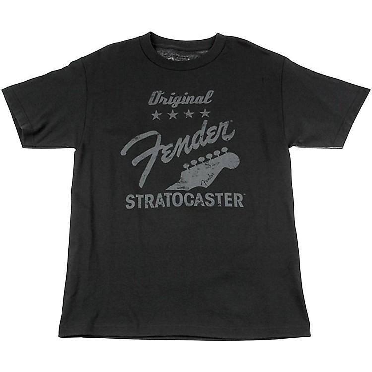 FenderOriginal Strat T-Shirt, CharcoalLarge