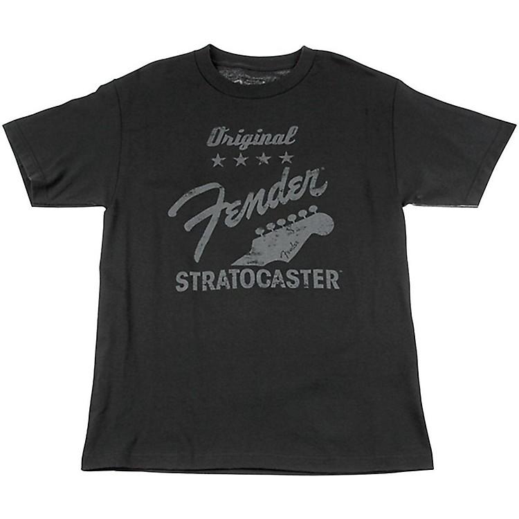FenderOriginal Strat T-Shirt, CharcoalSmall