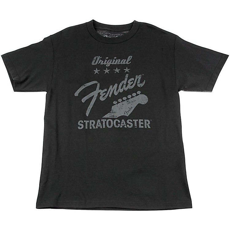 Fender Original Strat T-Shirt, Charcoal X Large