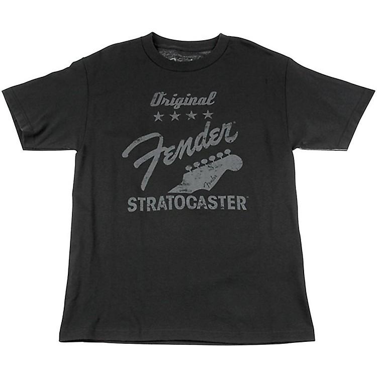 FenderOriginal Strat T-Shirt, CharcoalX Large