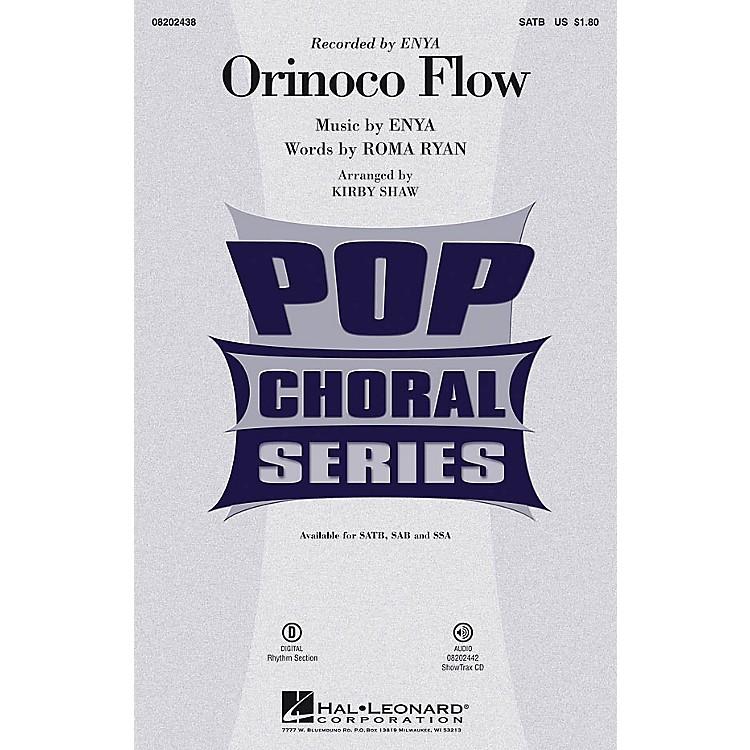 Hal LeonardOrinoco Flow SATB by Enya arranged by Kirby Shaw
