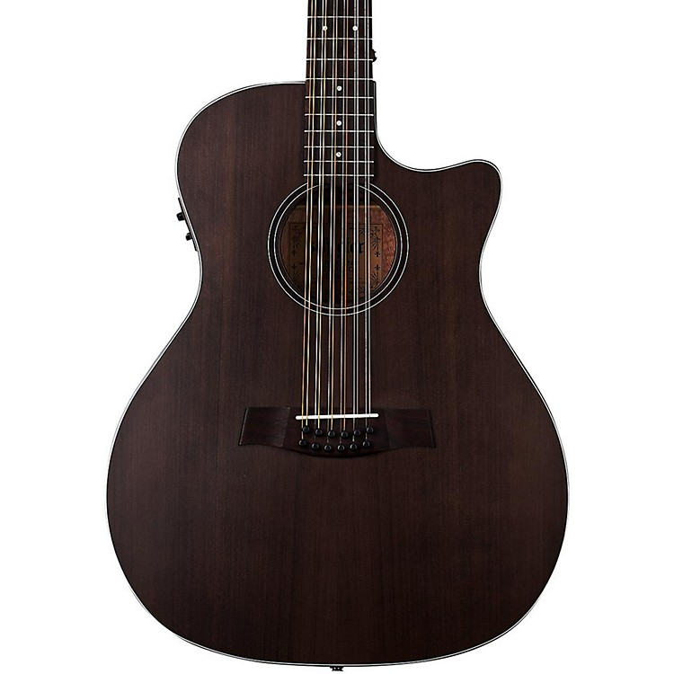 Schecter Guitar Research Orleans Studio 12-String Acoustic Guitar See-Thru Black