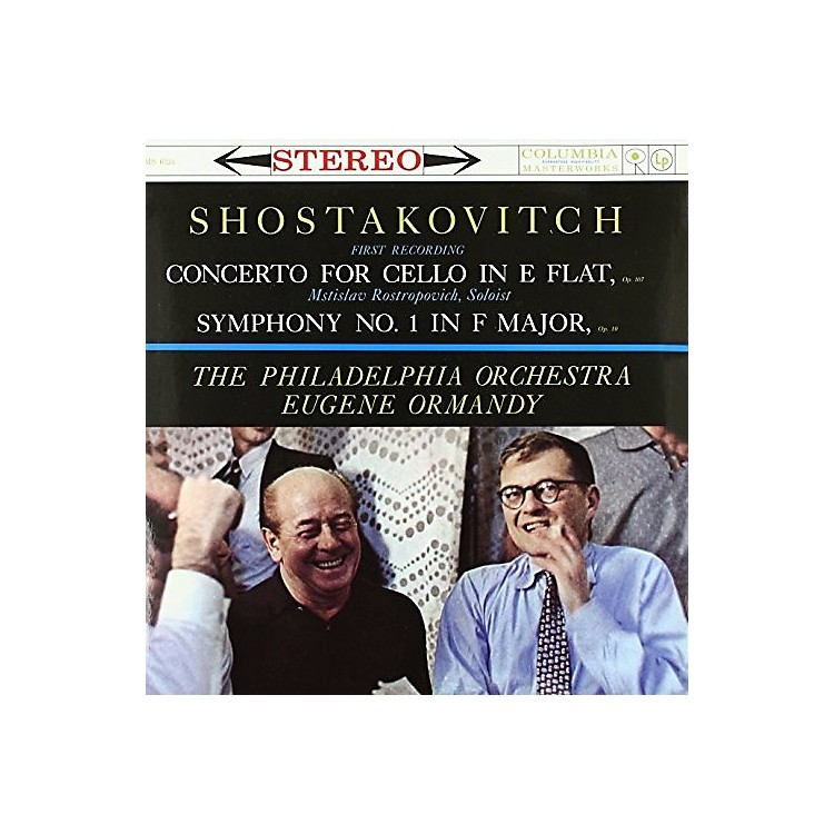 AllianceOrmandy - Shostakovich - Concerto For Cello In E Flat