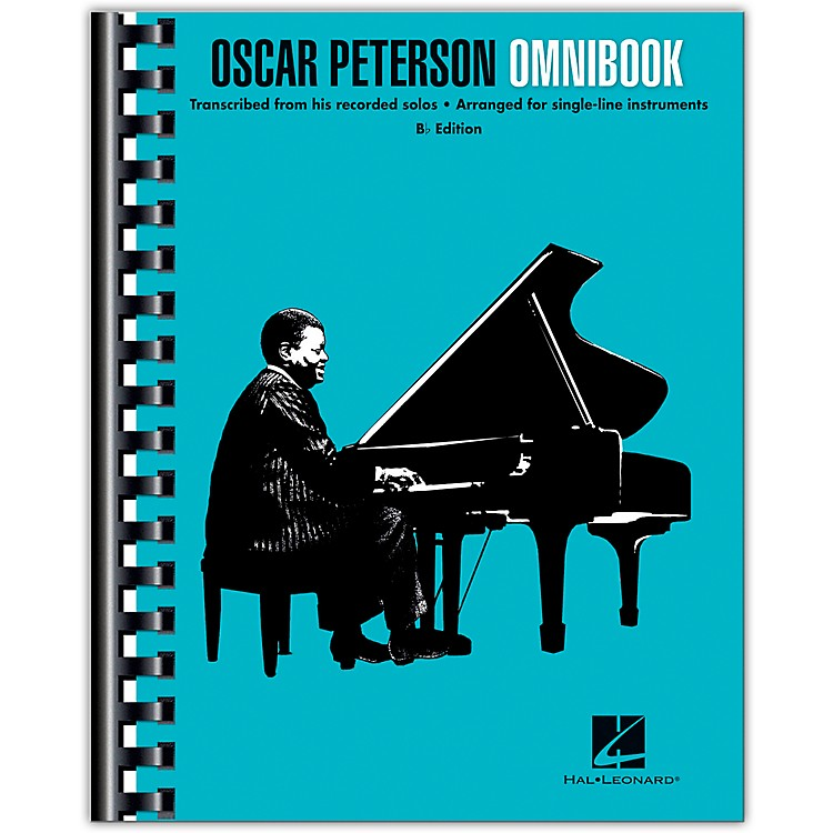 Hal LeonardOscar Peterson - Omnibook (B-Flat Instruments) Jazz Transcriptions