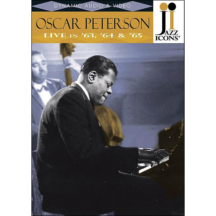 Hal LeonardOscar Peterson Live In '63, '64 & '65 Jazz Icons DVD