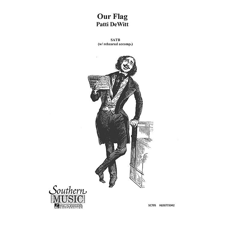 Hal LeonardOur Flag (Choral Music/Octavo Secular Satb) SATB Composed by Dewitt, Patti