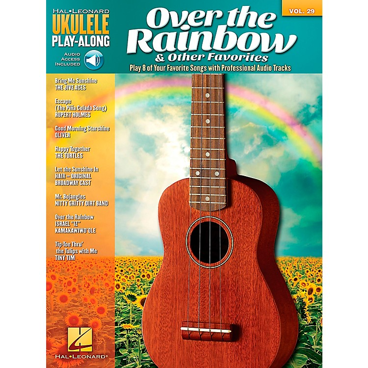 Hal Leonard Over The Rainbow & Other Favorites - Ukulele Play-Along Vol. 29 Book/CD