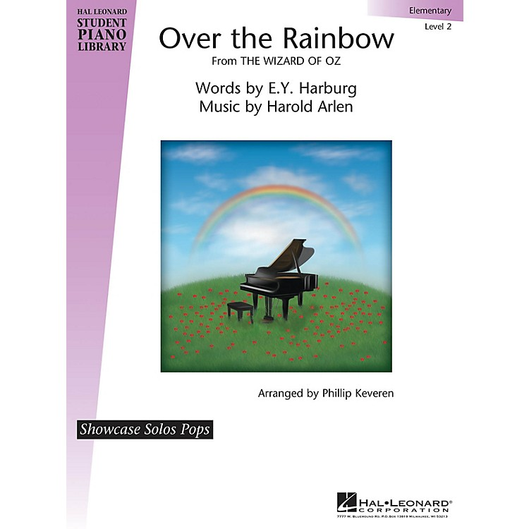 Hal LeonardOver the Rainbow (from The Wizard of Oz) Piano Library Series (Level 2)