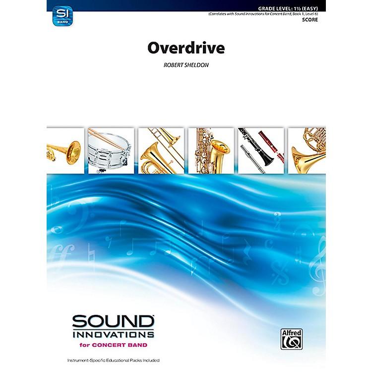 AlfredOverdrive Concert Band Grade 1.5 (Easy)