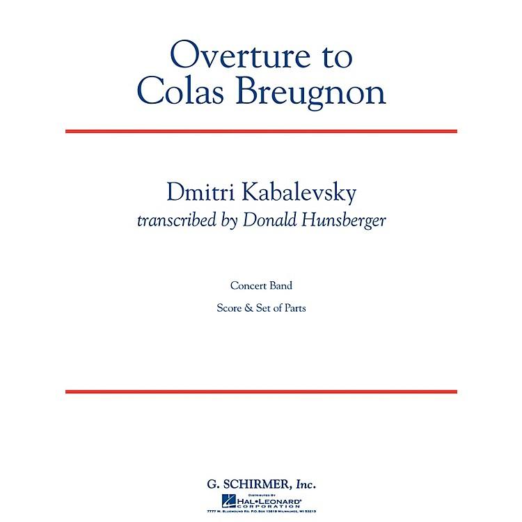 G. SchirmerOverture to Colas Breugnon Concert Band Level 5 by Dmitri Kabalevsky Arranged by Donald Hunsberger