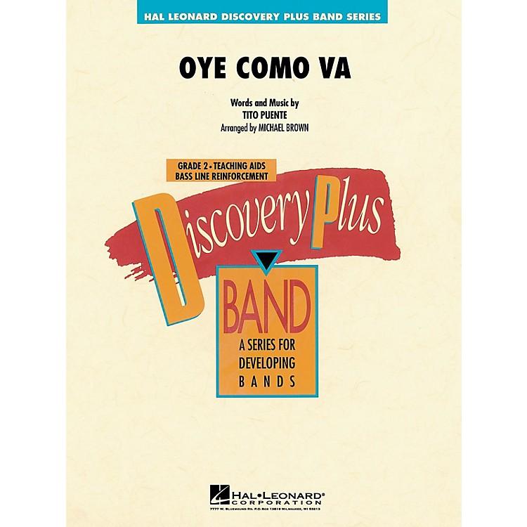 Hal LeonardOye Como Va - Discovery Plus Concert Band Series Level 2 arranged by Michael Brown