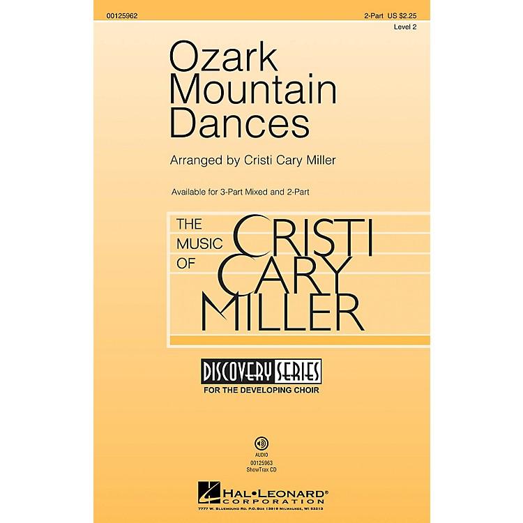 Hal LeonardOzark Mountain Dances (Medley Discovery Level 2) 2-Part arranged by Cristi Cary Miller
