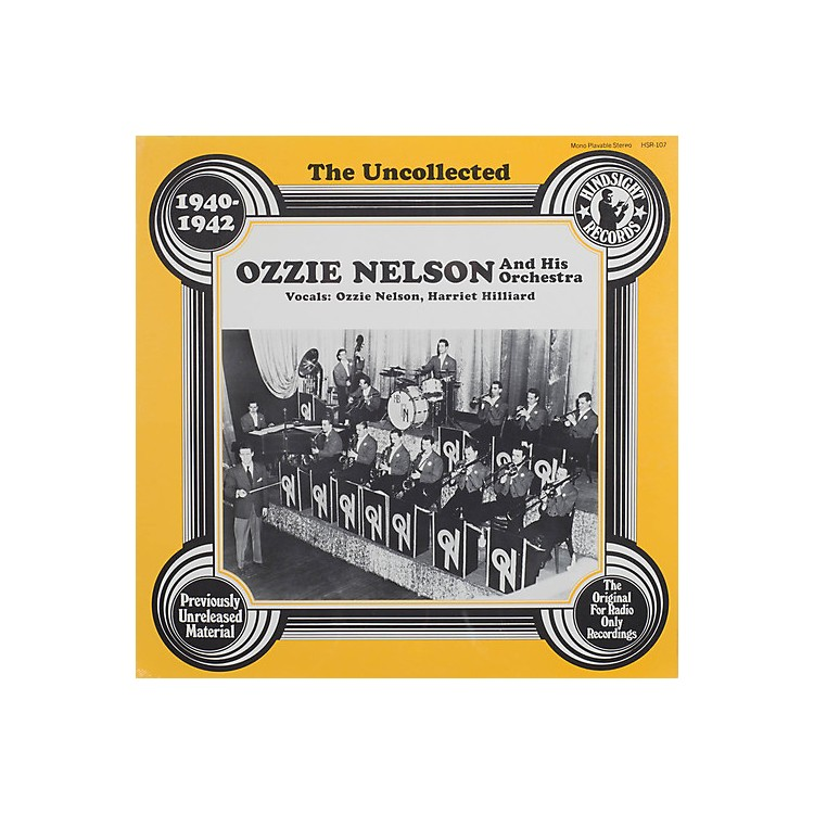 AllianceOzzie Nelson & Orchestra - Uncollected