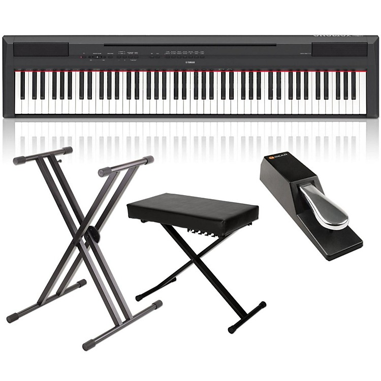 YamahaP-115 88-Key Weighted Action Digital Piano Packages