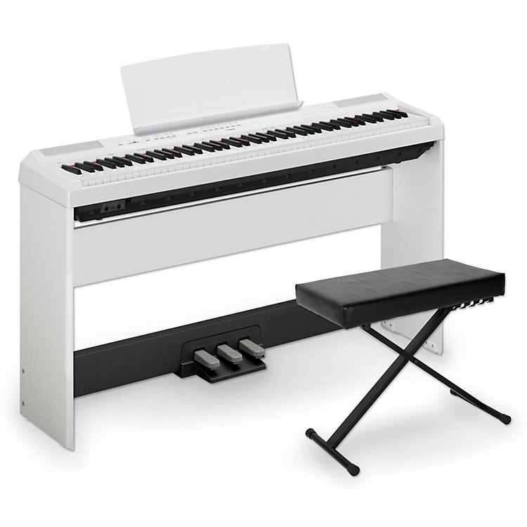 yamaha p 115 88 key weighted action digital piano packages music123. Black Bedroom Furniture Sets. Home Design Ideas