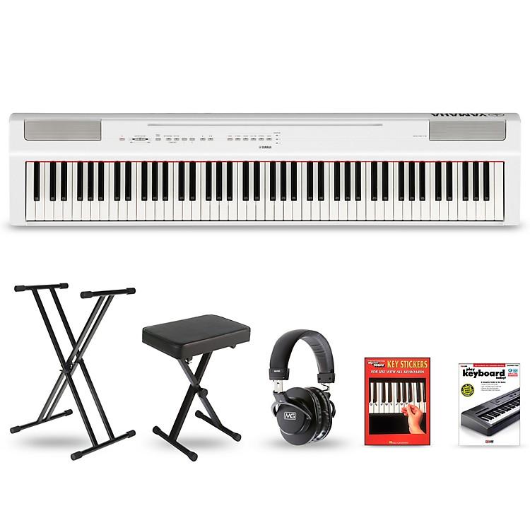 YamahaP-125 Digital Piano Keyboard PackageBlackDeluxe Package