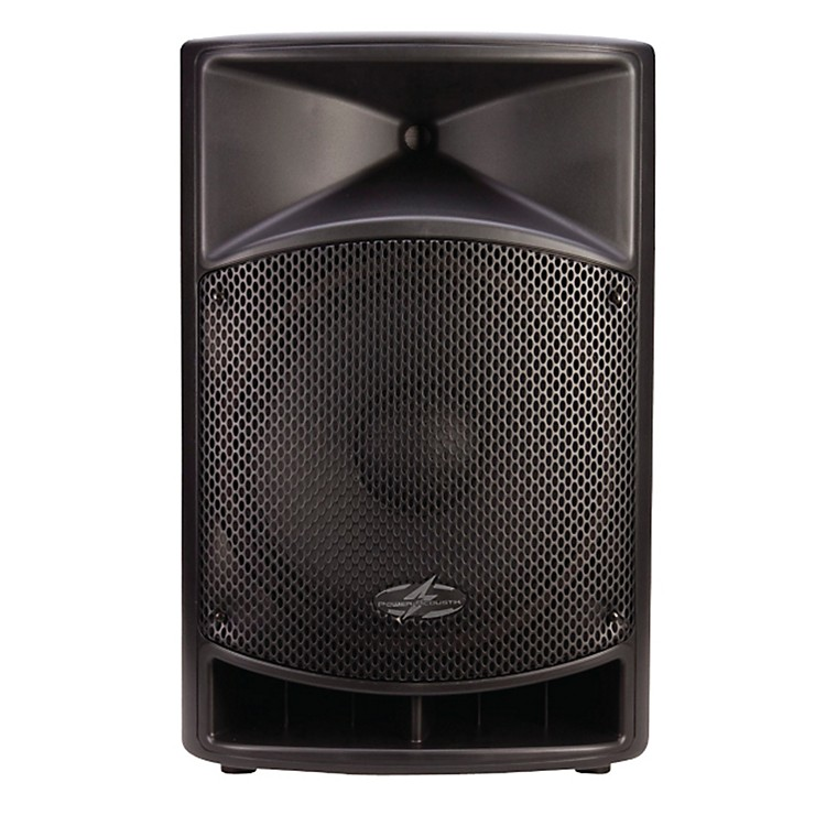 Power Acoustik P-15AUI Powered 15in Full Range PA System w/ iPod Dock