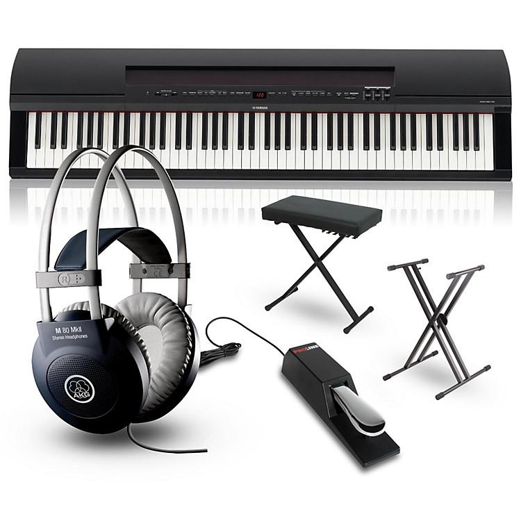 YamahaP-255 88-Key Digital Piano PackagesBlackPerformance Package
