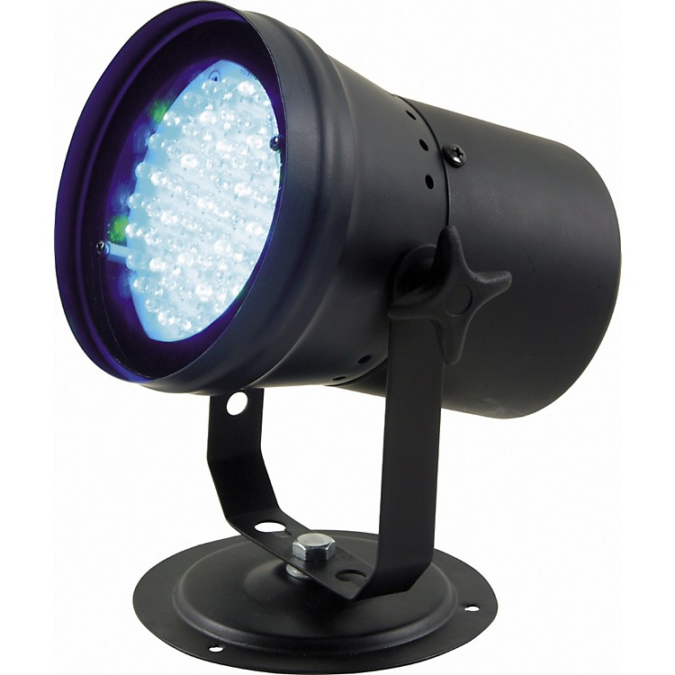 American DJP-36 LED DMX Pinspot with RGB Color Mixing