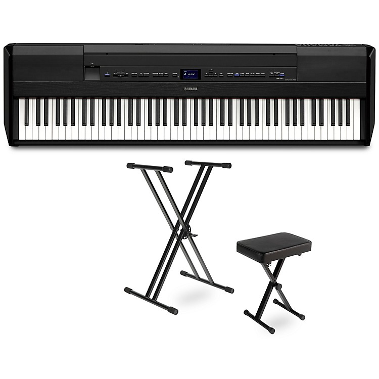 Yamaha P-515 Digital Piano Package Black Essentials