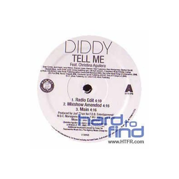 Alliance P. Diddy - Tell Me