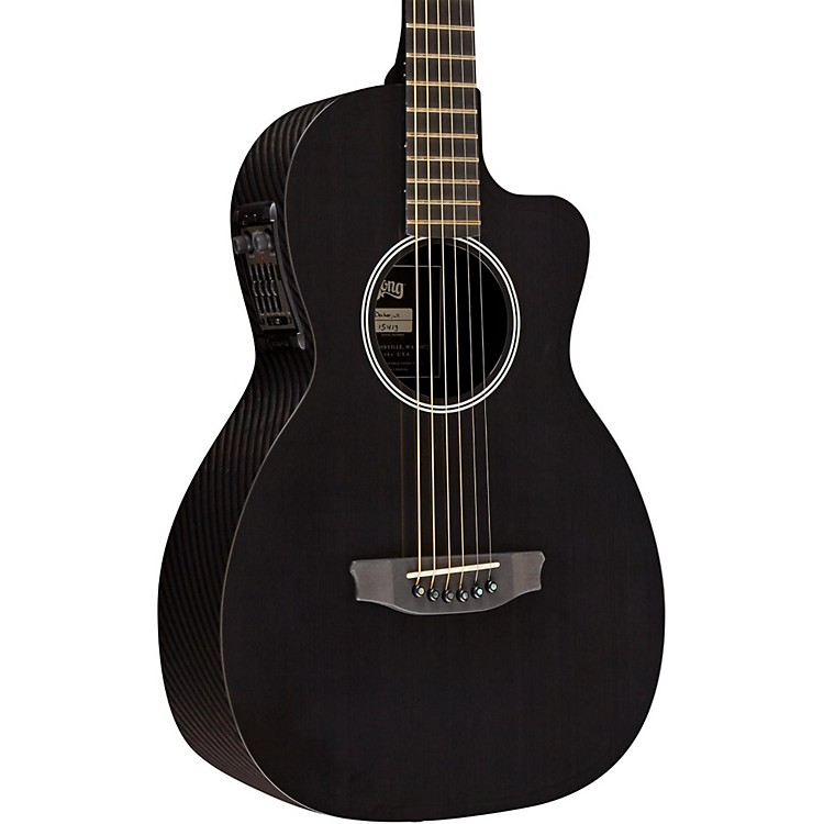 RainSong P12 6-String Parlor with 12-Fret NS Neck Clear Gloss