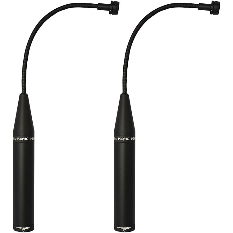 Earthworks P30/HCmp Periscope Mic (Matched Pair) Black