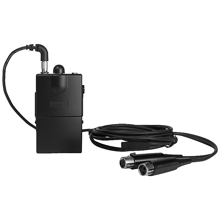 ShureP6HW Hardwired Personal Monitor Bodypack
