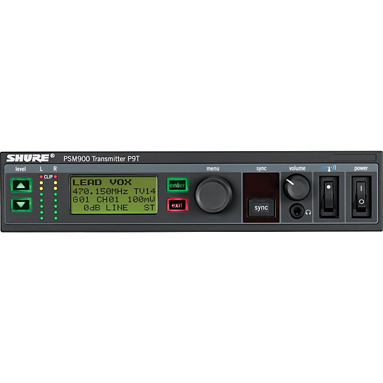 ShureP9T PSM900 TransmitterL6