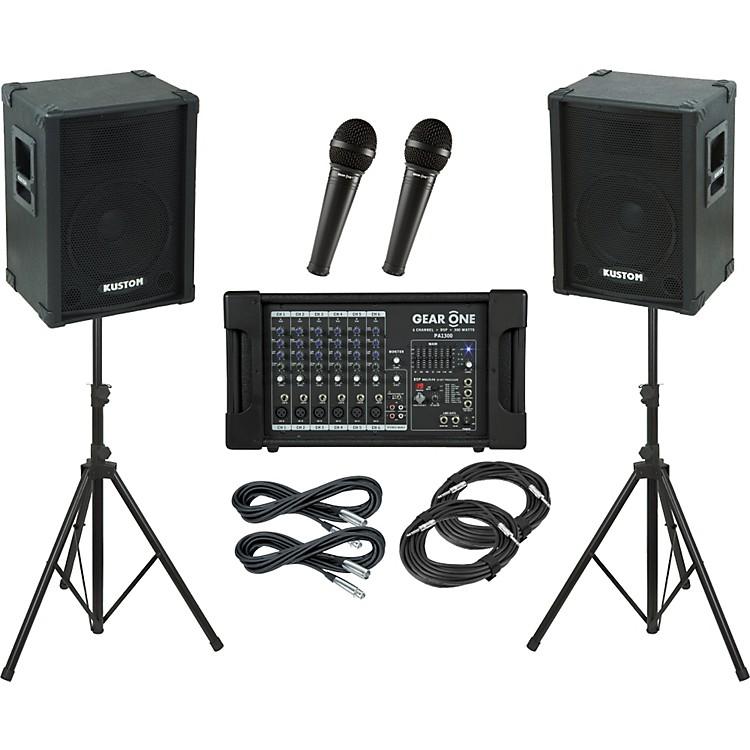 Gear OnePA1300 / Kustom KPC12 PA Package