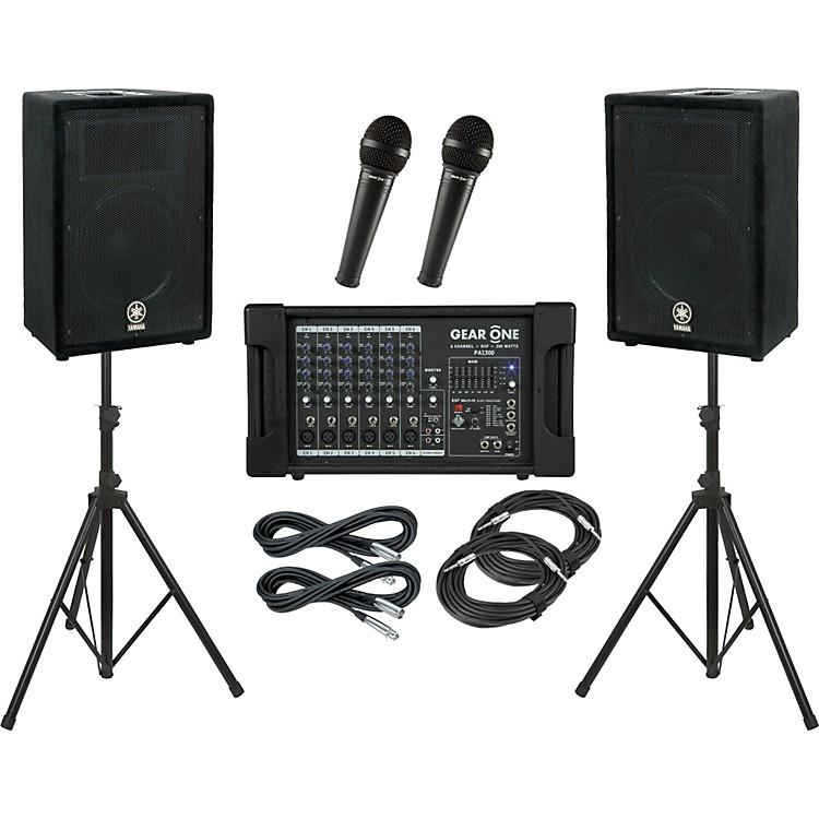 Gear OnePA1300 / Yamaha A12 PA Package