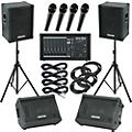 Gear One PA2400 / Kustom KPC15 Mains and Monitors Package