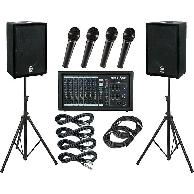Gear OnePA2400 / Yamaha A12 PA Package