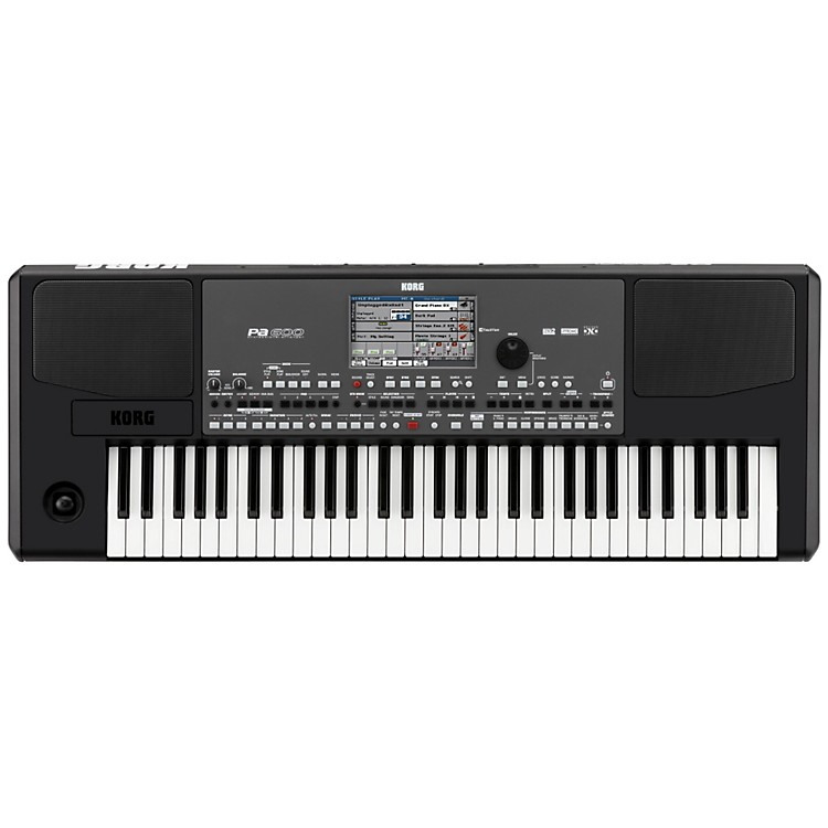 Korg PA600 Arranger Keyboard  888365852744