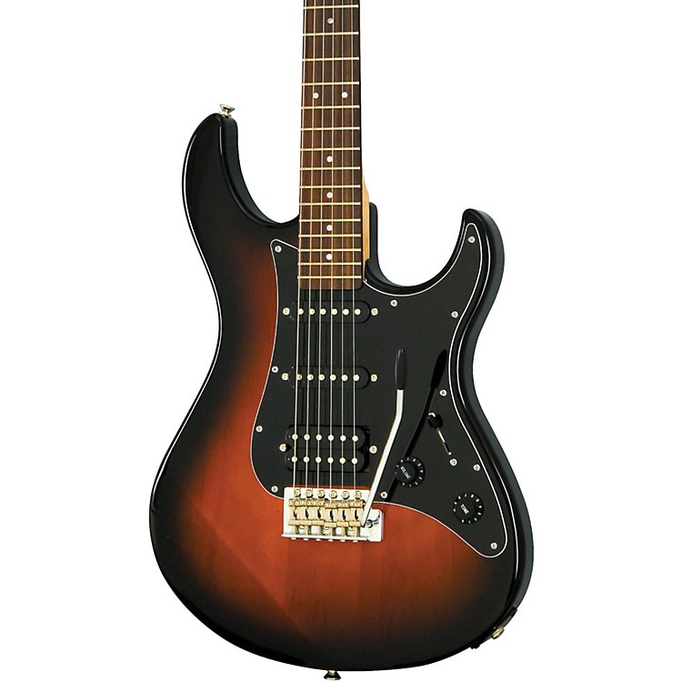 YamahaPAC012DLX Pacifica Series HSS Deluxe Electric GuitarVintage Sunburst